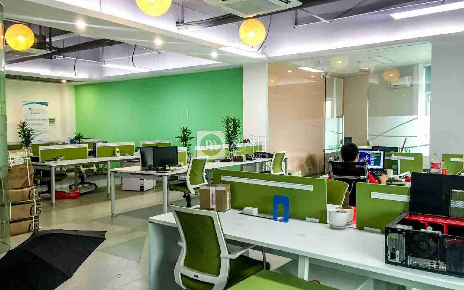 广兴源互联网创意园写字楼出租250平米精装办公室70元/m².月