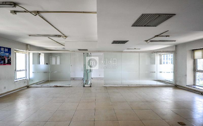 国贸万达广场-纳什空间写字楼出租126平米精装办公室23500元/月