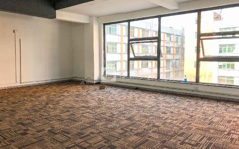 城市山海中心写字楼出租43平米简装办公室75元/m².月