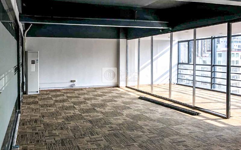 城市山海中心写字楼出租147平米简装办公室75元/m².月