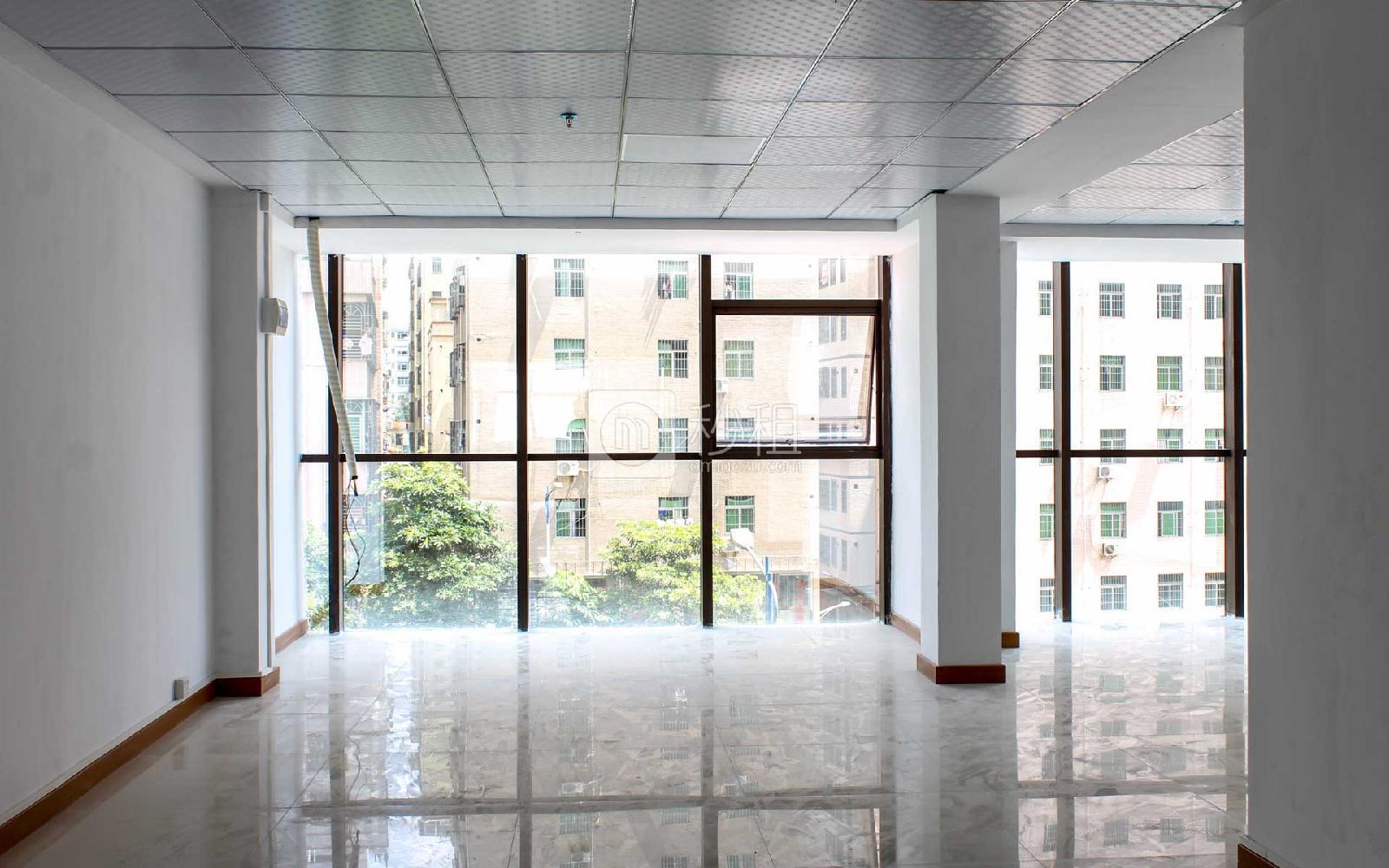 汇聚大厦写字楼出租71平米精装办公室45元/m².月
