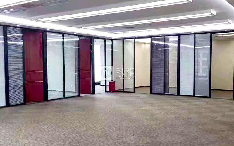 京基濱河時代廣場寫字樓出租753平米精裝辦公室138元/m2.月