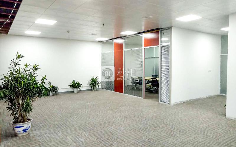 中电照明大厦写字楼出租385平米精装办公室85元/m².月