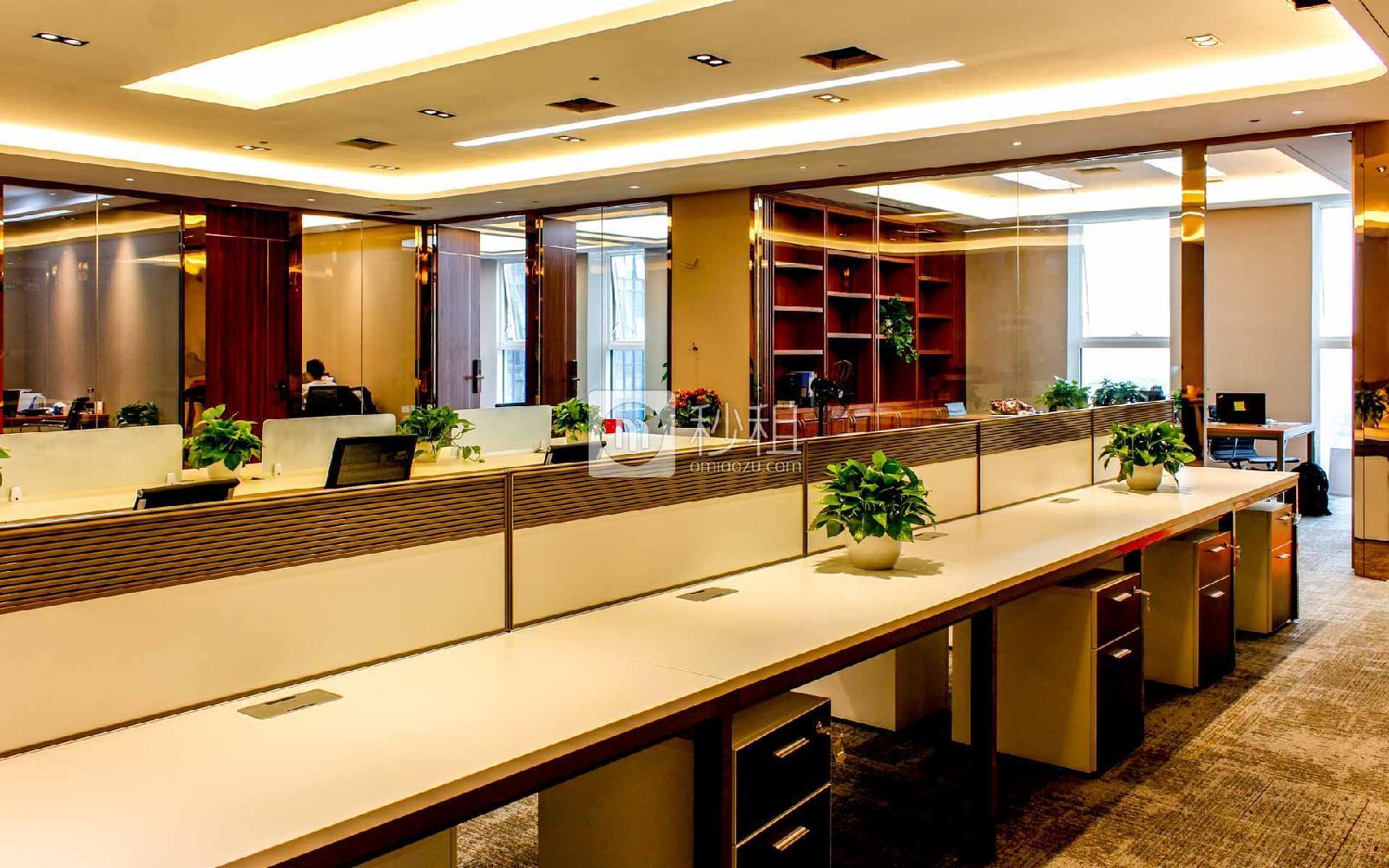 华安保险总部大厦写字楼出租470平米豪装办公室255元/m².月