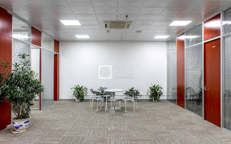 中电照明大厦写字楼出租725平米精装办公室100元/m².月