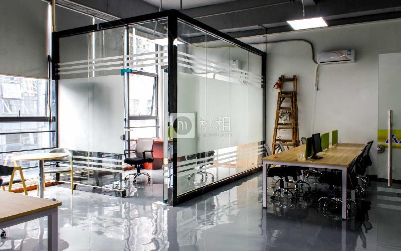 人人来创客空间·中科美城-宝安智谷写字楼出租80平米精装办公室6400元/间.月