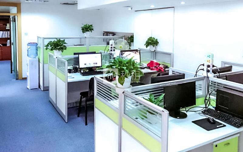国贸大厦写字楼出租40平米精装办公室15000元/月