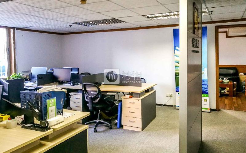 华丰大厦写字楼出租102平米精装办公室8000元/月