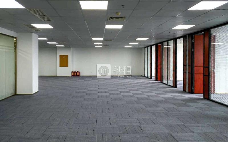 科技园工业大厦写字楼出租484平米精装办公室125元/m².月