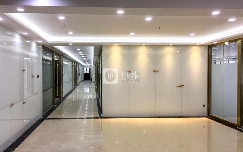 科技园工业大厦写字楼出租215平米精装办公室125元/m².月