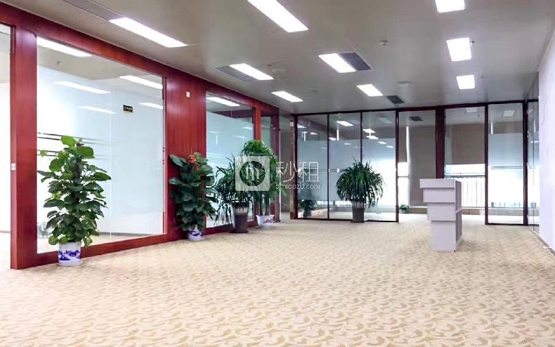 海王银河科技大厦写字楼出租2500平米精装办公室160元/m².月