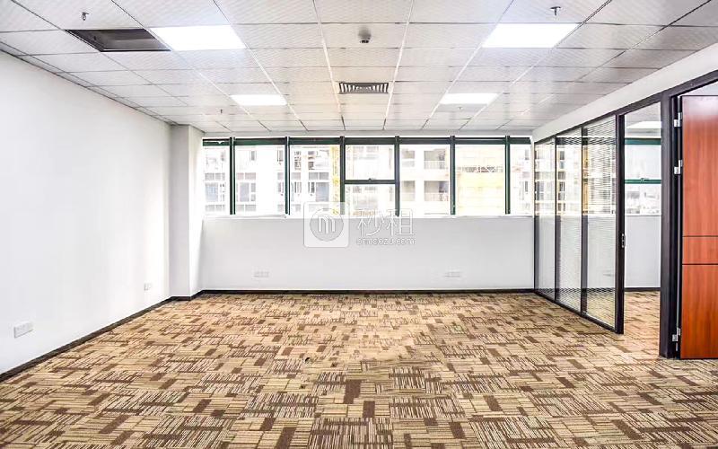虚拟大学园写字楼出租195平米精装办公室110元/m².月
