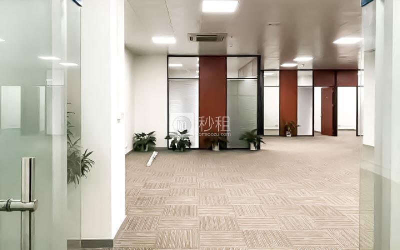 中电照明大厦写字楼出租321平米精装办公室100元/m².月