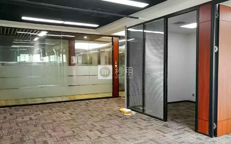 高新技术产业园写字楼出租122平米精装办公室110元/m².月