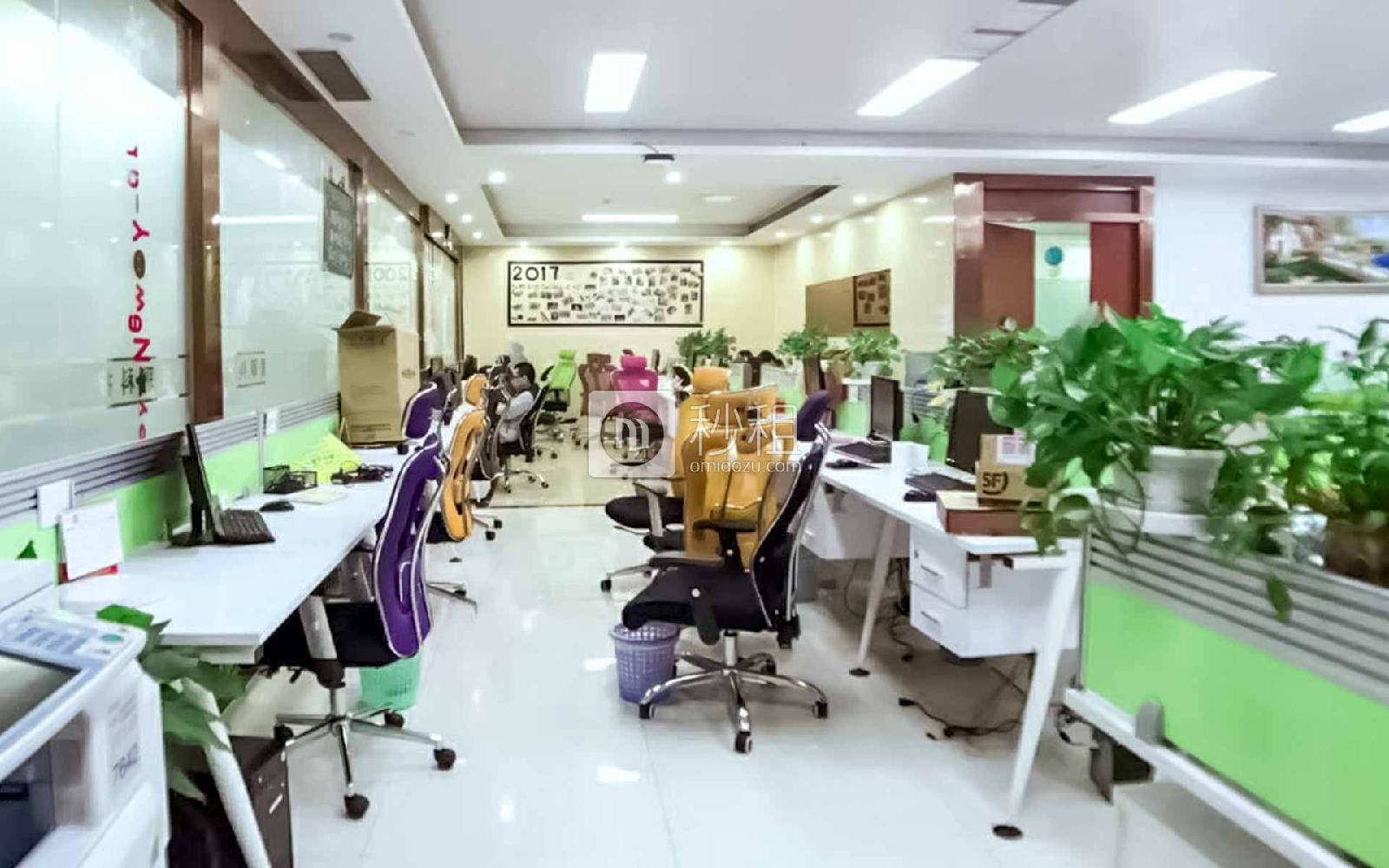 华润城大冲商务中心写字楼出租559平米精装办公室160元/m².月