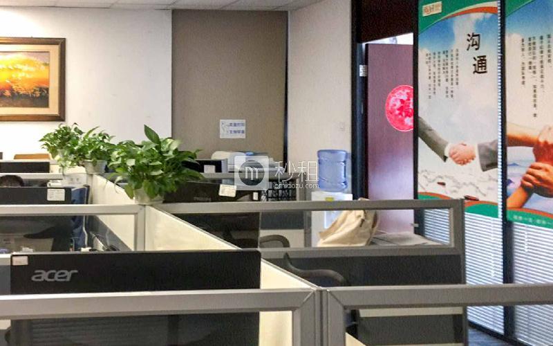 博兴大厦写字楼出租369平米精装办公室120元/m².月