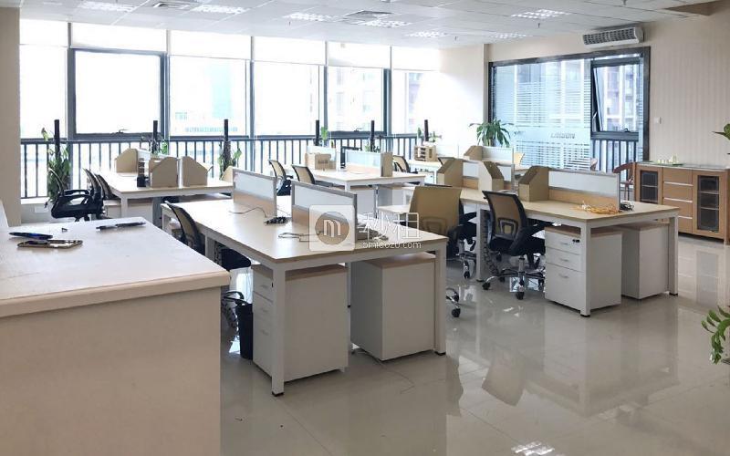 南园枫叶大厦写字楼出租418平米精装办公室115元/m².月