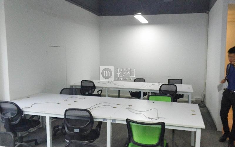 创客公馆写字楼出租148平米精装办公室80元/m².月