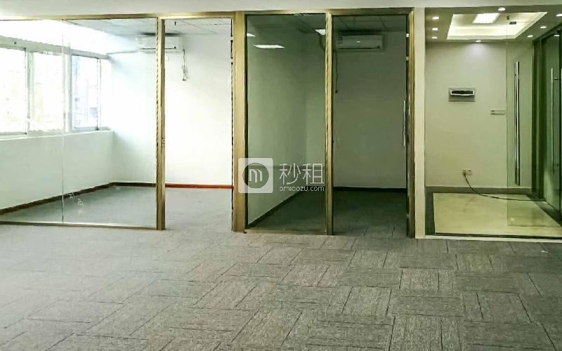 安华工业区写字楼出租135平米简装办公室90元/m².月