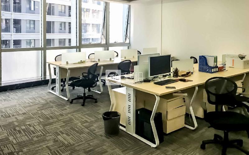鼎丰大厦写字楼出租210平米精装办公室180元/m².月