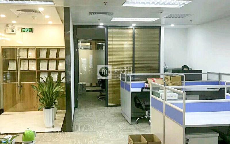 迈科龙大厦写字楼出租168平米精装办公室140元/m².月