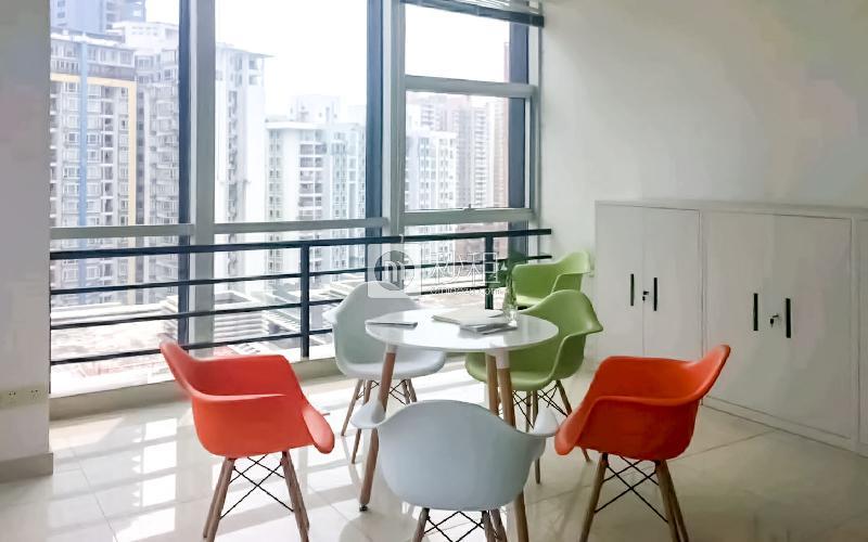 汉京国际大厦写字楼出租138平米精装办公室118元/m².月