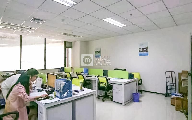 华富洋大厦写字楼出租168平米精装办公室110元/m².月