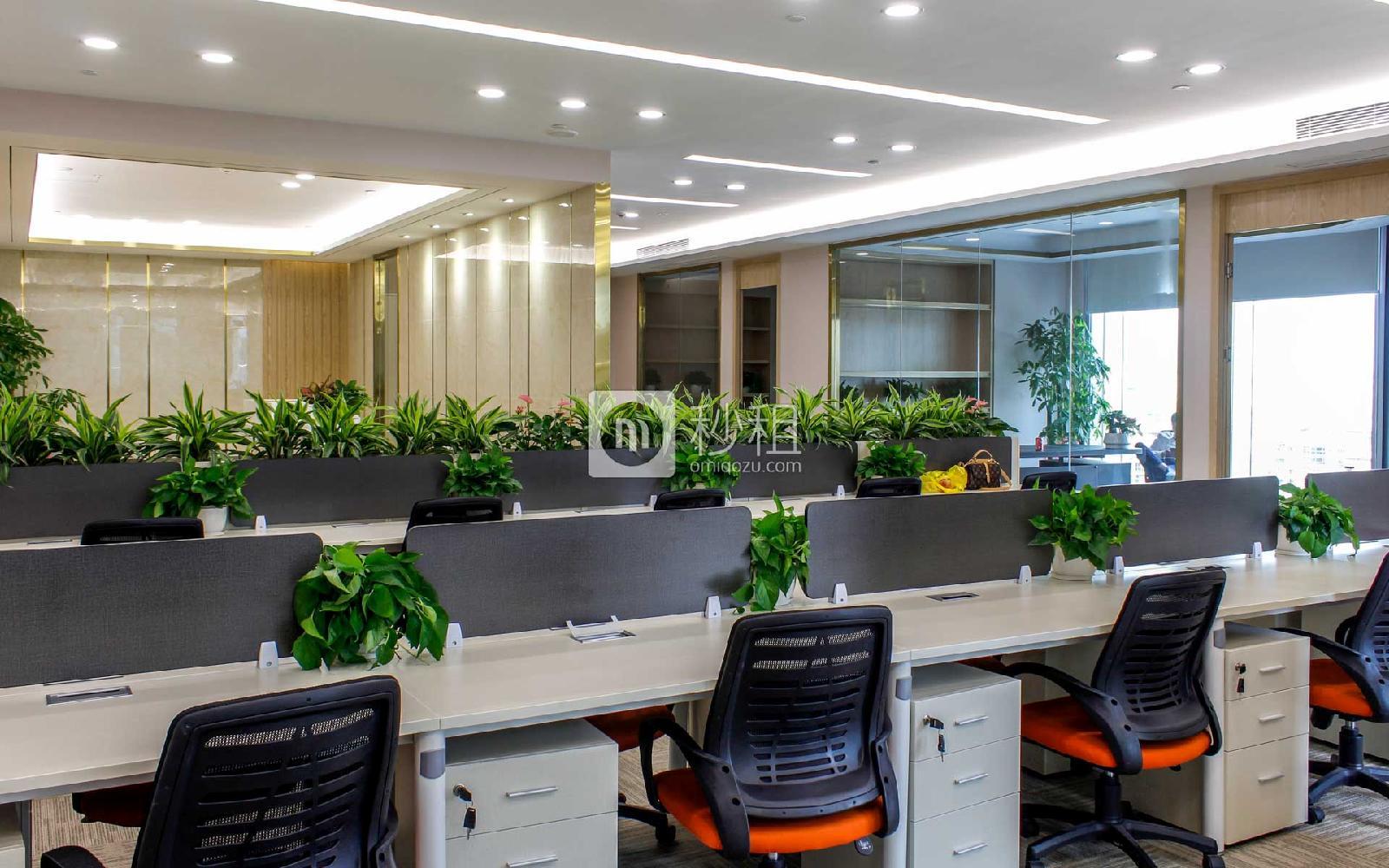 前海卓越寶中時代廣場寫字樓出租348平米精裝辦公室175元/m2.月