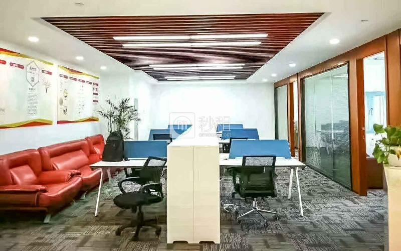 时代财富大厦写字楼出租188平米豪装办公室235元/m².月