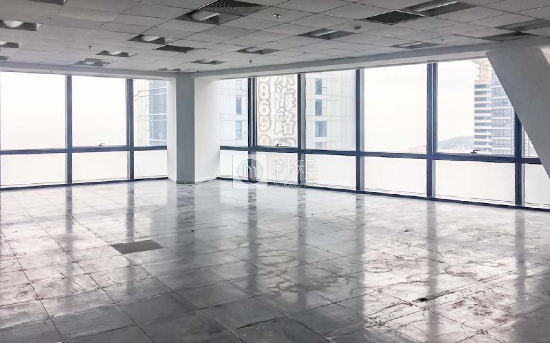 海航万邦中心写字楼出租1123平米毛坯办公室4.5元/m².天