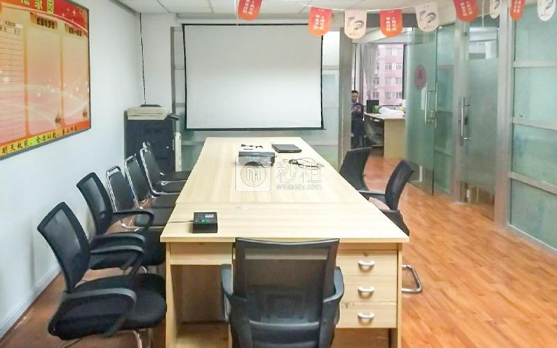 华仁国际大厦写字楼出租128平米精装办公室2.5元/m².天
