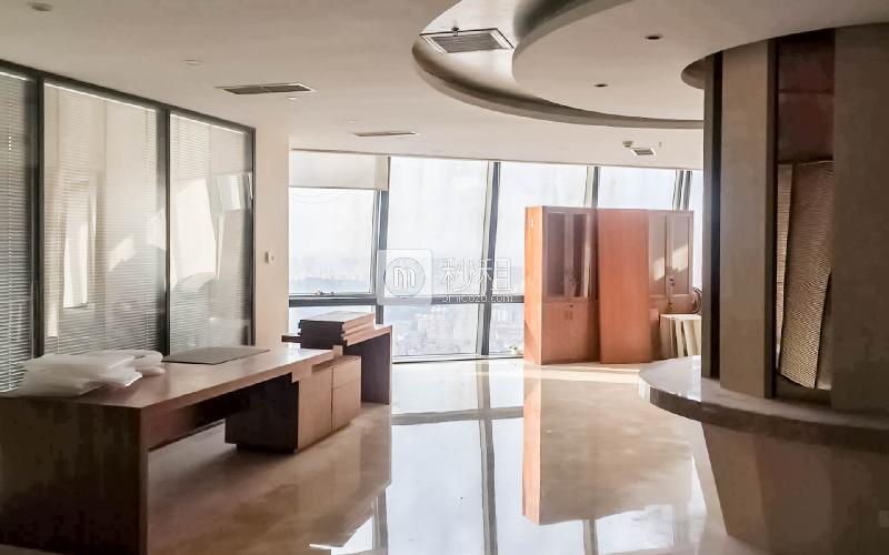 海航万邦中心写字楼出租800平米精装办公室3.8元/m².天