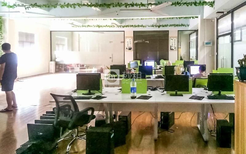 潮loft创意产业园写字楼出租358平米豪装办公室65元/m².月