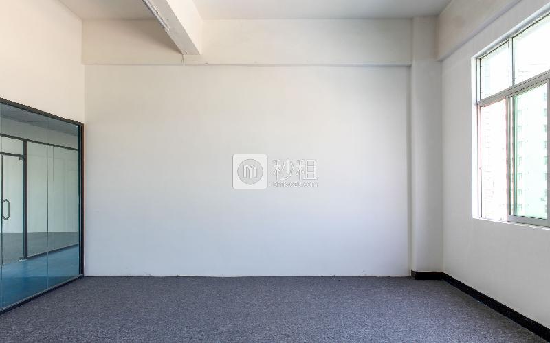 几何电商园写字楼出租88平米简装办公室46元/m².月