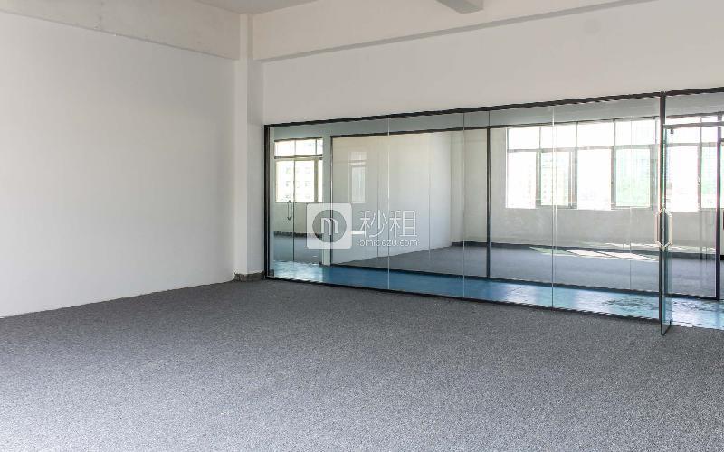 几何电商园写字楼出租90平米简装办公室46元/m².月