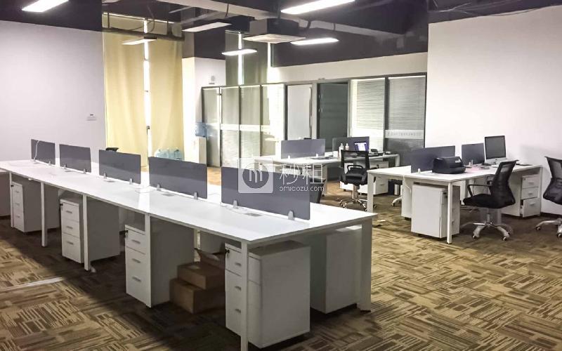 赋安科技大厦写字楼出租368平米精装办公室40000元/月