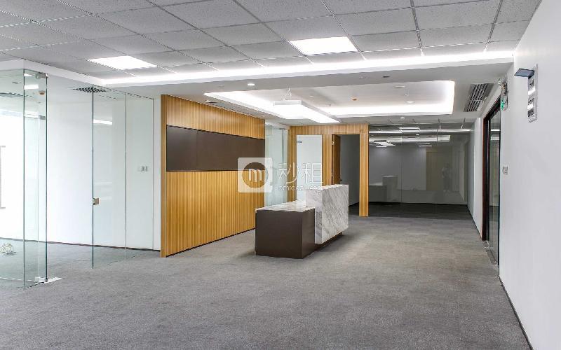 京基濱河時代廣場寫字樓出租350平米精裝辦公室138元/m2.月