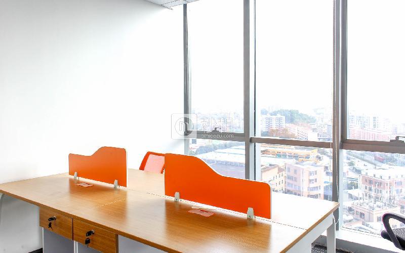 观澜湖国际大厦写字楼出租236平米精装办公室60元/m².月