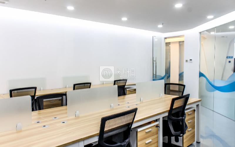 南天辉创研中心大厦-恒悦创客魔方写字楼出租60平米精装办公室10560元/间.月