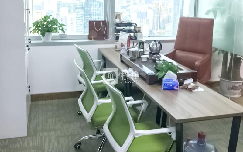 地王大厦写字楼出租272平米精装办公室220元/m².月