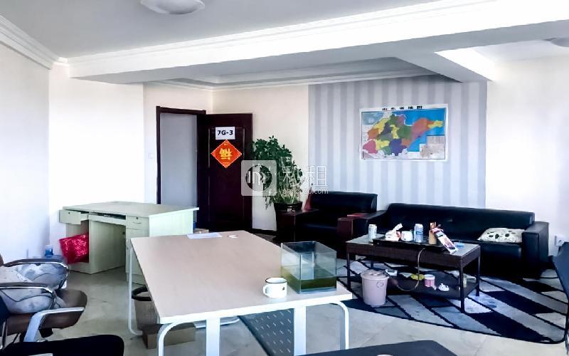 深业中心大厦写字楼出租65平米简装办公室1.3元/m².天
