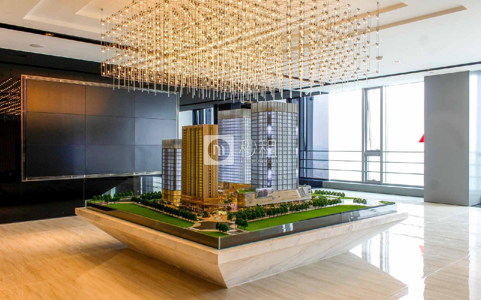 海源城写字楼出租500平米简装办公室80元/m².月