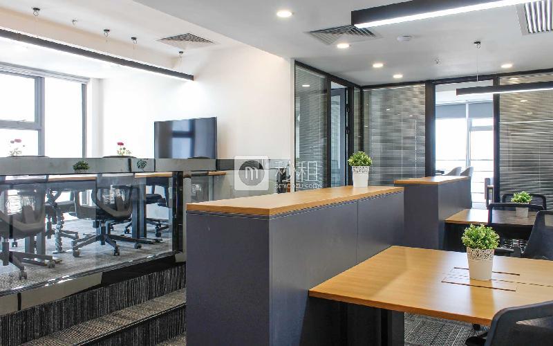 星河世纪大厦-纳什空间写字楼出租128平米精装办公室38800元/间.月
