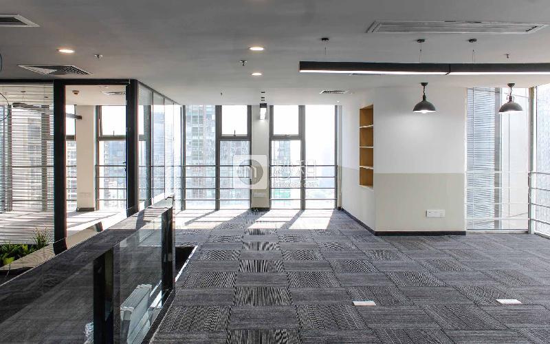 星河世纪大厦-纳什空间写字楼出租165平米精装办公室44600元/间.月