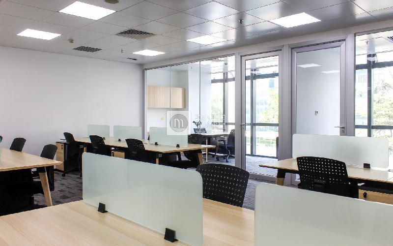 威客工场-威盛科技大厦写字楼出租253平米精装办公室45540元/间.月