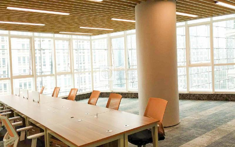 蚂蚁邦金融中心-华安保险总部大厦写字楼出租160平米精装办公室200元/m².月