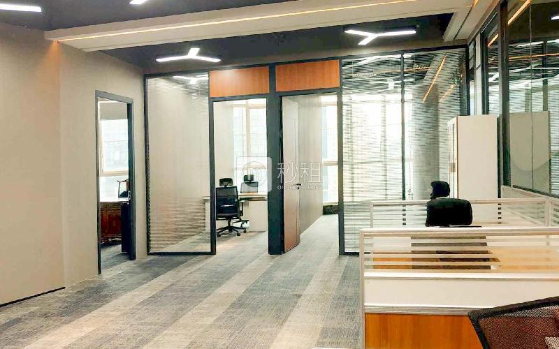 蚂蚁邦金融中心-华安保险总部大厦写字楼出租260平米精装办公室200元/m².月