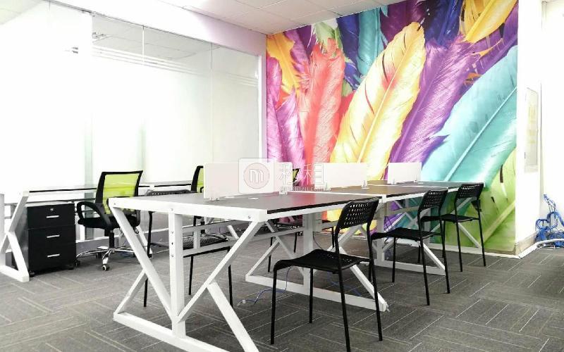 海松大厦写字楼出租270平米精装办公室120元/m².月