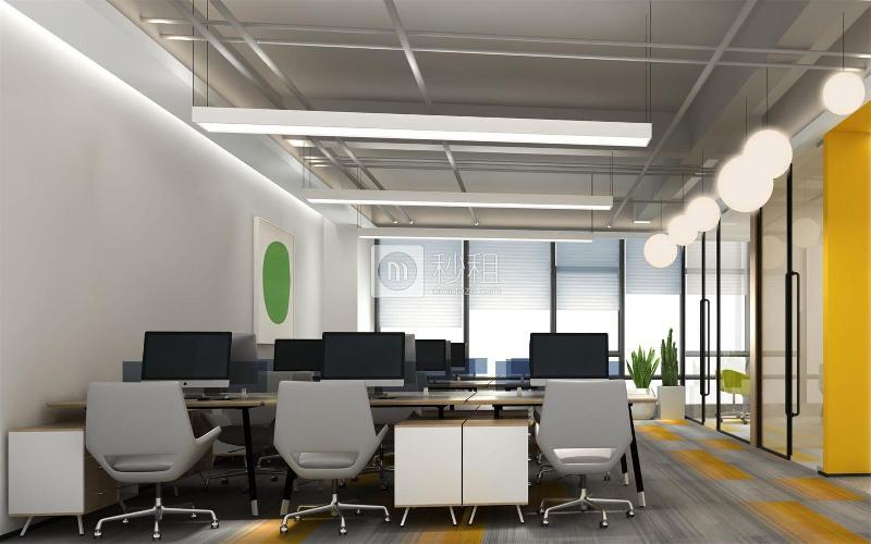 蘅芳科技大廈寫字樓出租166平米精裝辦公室88元/m2.月