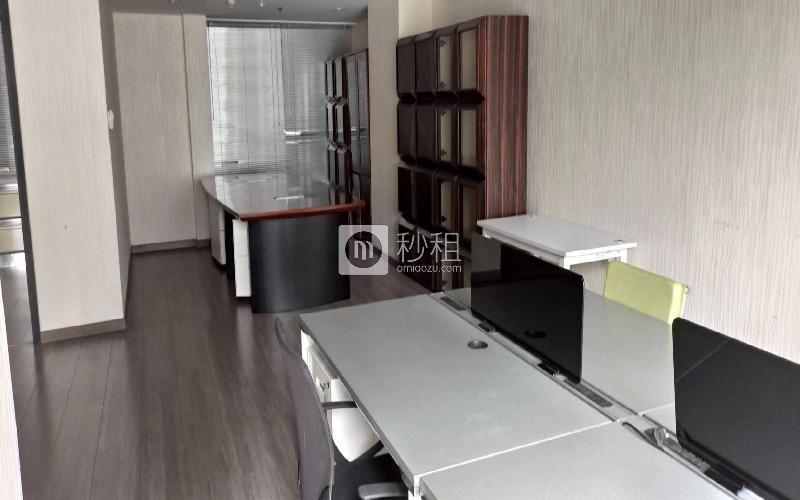 携富空间-濠盛商务中心写字楼出租123.95平米豪装办公室120元/m².月